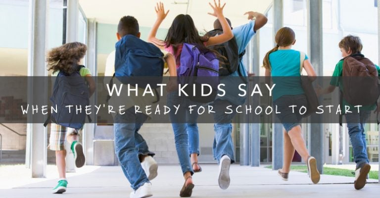 What Kids Say They're Looking Forward to at School 1