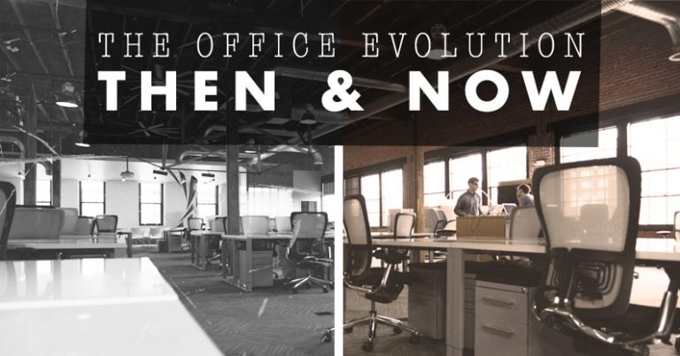 The Office Evolution: Then and Now 7