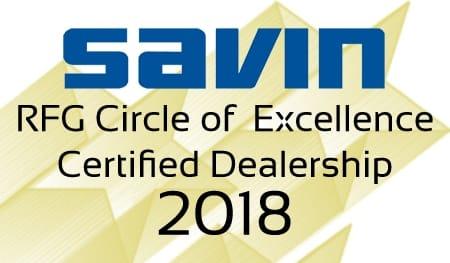 Savin Brand 2018 COE Logo 1.5inch