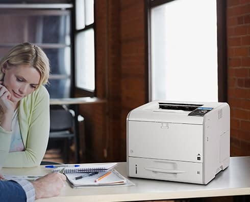 Savin SP4510DN Black and White Printer 2