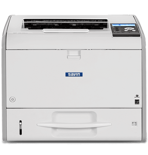 Savin SP4510DN Black and White Printer 1
