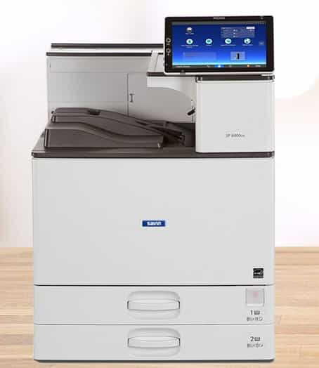 Savin SP 8400DN Black and White Laser Printer 1
