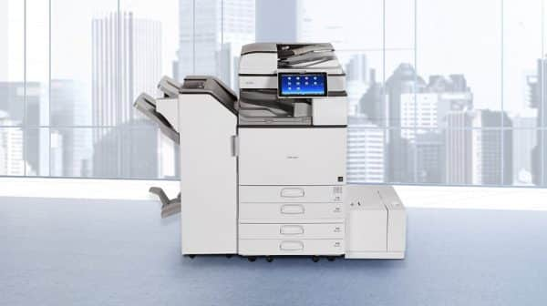 Savin MP 3055 Black and White Laser Multifunction Printer 3