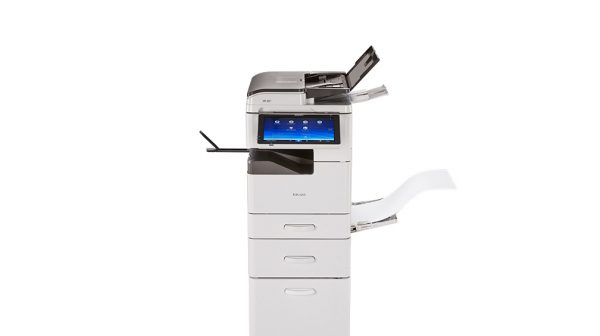Savin MP 305SPF Black and White Laser Multifunction Printer 4