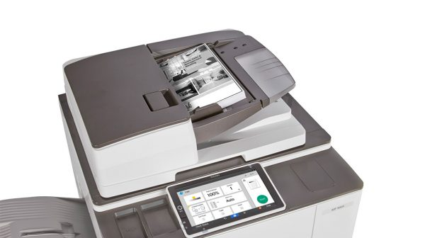 Savin MP 6503 Black and White Laser Multifunction Printer 2