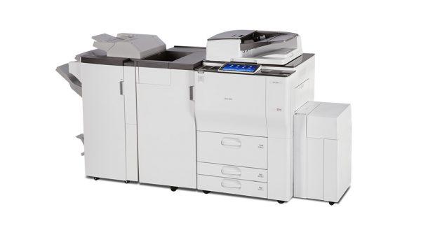 Savin MP 7503 Black and White Laser Multifunction Printer 4