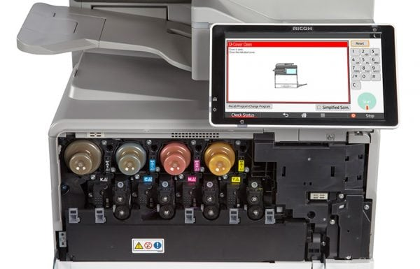 Savin MP C407 Color Laser Multifunction Printer 2