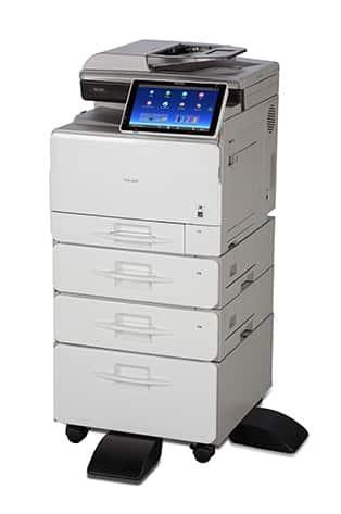 Savin MP C407 Color Laser Multifunction Printer 3