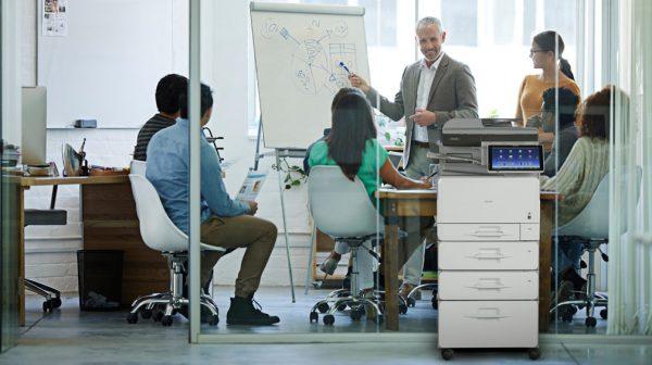 Savin MP C407 Color Laser Multifunction Printer 4