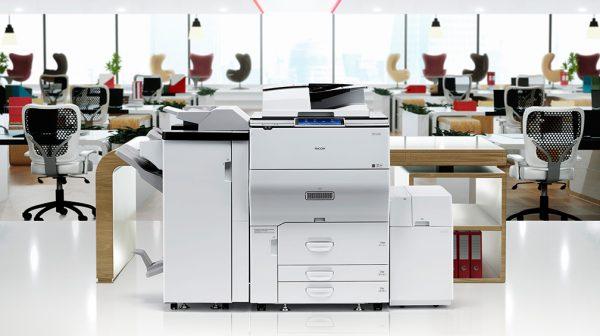 Savin MP C6503 Color Laser Multifunction Printer 4