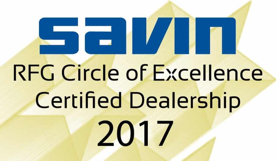 Savin Brand 2017 COE Logo 3inch
