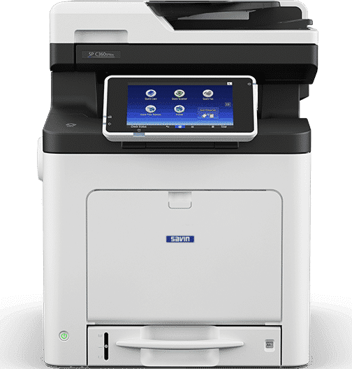 Savin SP C360SFNw Color LED Multifunction Printer 1