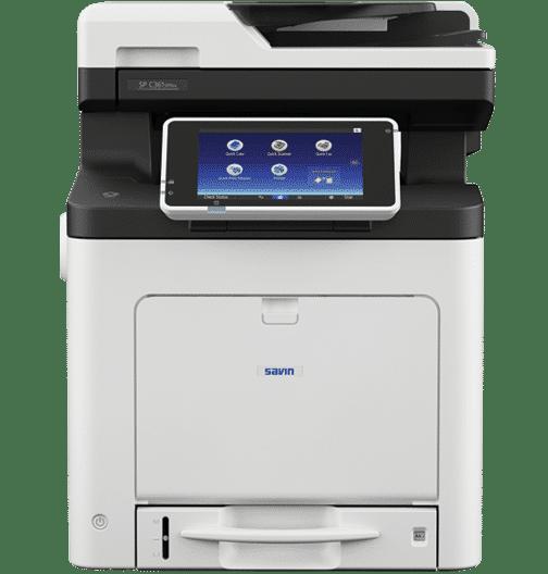 Savin SP C361SFNw Color LED Multifunction Printer 1