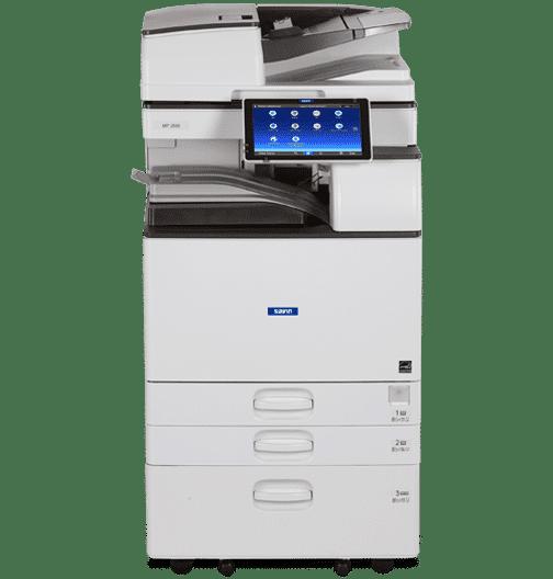 Savin MP 2555 Black and White Laser Multifunction Printer 1