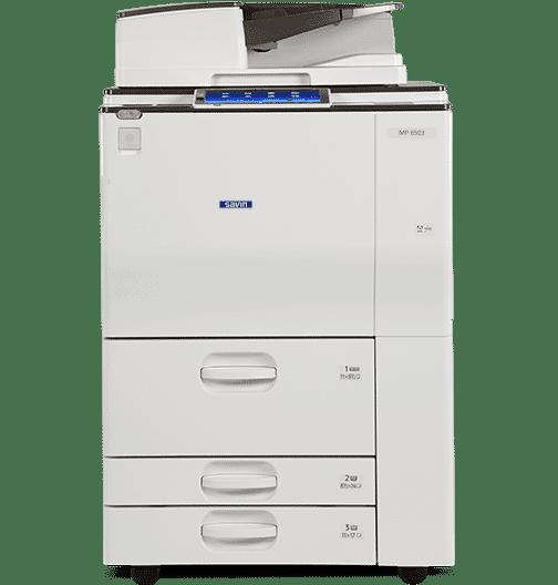 Savin MP 6503 Black and White Laser Multifunction Printer 1