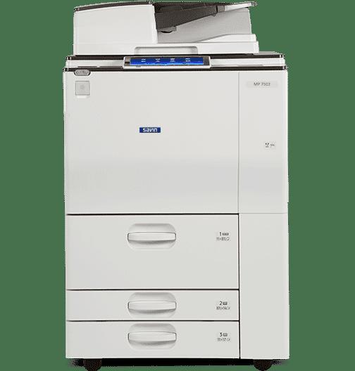 Savin MP 7503 Black and White Laser Multifunction Printer 1