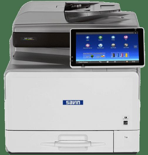 Savin MP C407 Color Laser Multifunction Printer 1