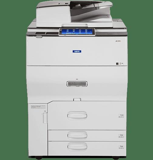 Savin MP C6503 Color Laser Multifunction Printer 1