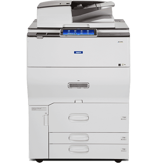 Savin MP C8003 Color Laser Multifunction Printer 1