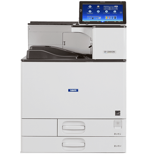 Savin SP C840DN Color Laser Printer 1