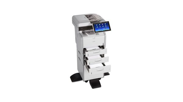 Savin MP 402SPF Black and White Multifunction Printer 4