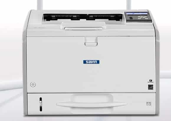 Savin SP 3600DN Black and White Printer 1