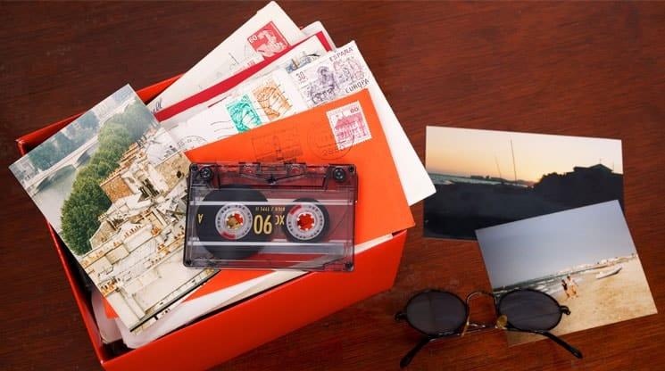 Crafting a Memory Box